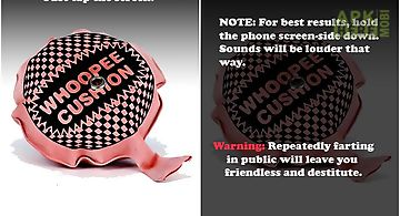 Whoopee cushion!( fart )