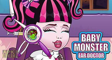 Baby monster ear doctor