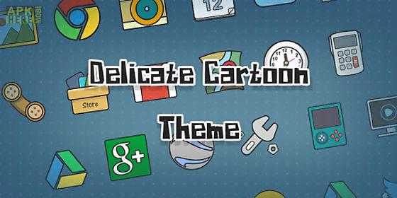 delicate cartoon - solo theme