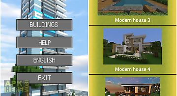 Buildings ideas for minecraft for android free download at apk here modern buildings blueprints malvernweather Image collections