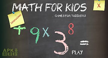 Math for kids