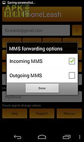 Phoneleash: sms/mms forwarding for Android free download at Apk Here