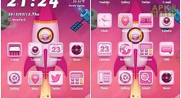 Pinky rocket theme