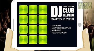 Dj electro club sound pad