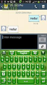 green keyboard