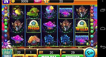 Magic forest slot machine game