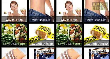 No carb diet and low carb diet p..
