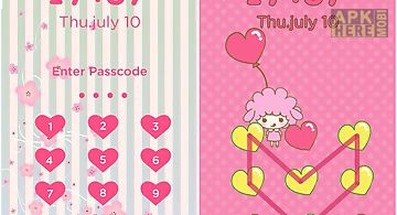 Pink love diy locker theme