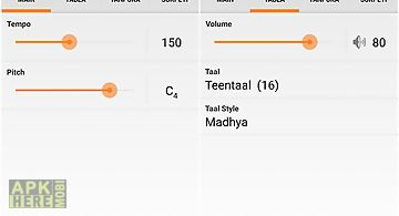 Pocket raga - tabla & tanpura