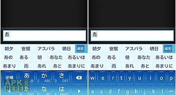 Crystalblue keyboard skin