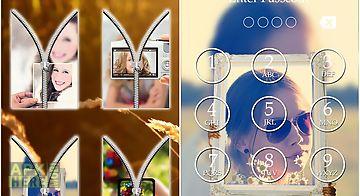 Pip lock screen zipper