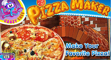 Pizza maker crazy chef game