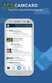 Camcard free business card r for android free download at apk here camcard free business card r reheart Images