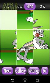 bugs bunny games puzzle
