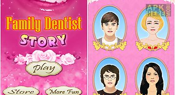 Family crazy kids care dentist