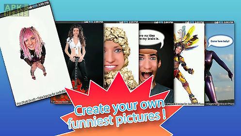 fun photo booth - fake images