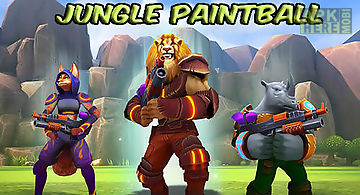 Jungle paintball