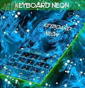 keyboard neon glow