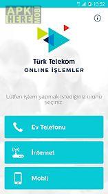 online İşlemler – ev telefonu
