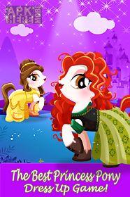 pony princess pet dress up