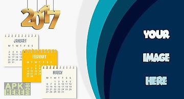 Calendar frames 2017