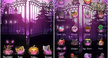 Halloween golauncher theme