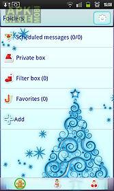 kawaii christmas go sms pro