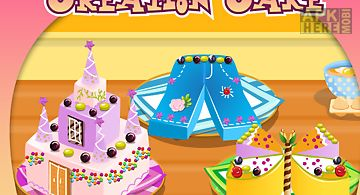Creation and cooking cake