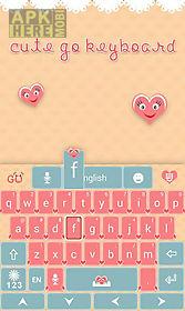 cute go keyboard theme