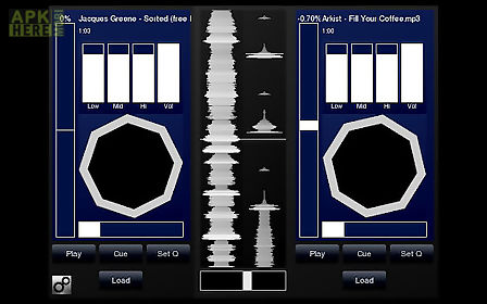 Djpad free turntable dj mixer for Android free download at Apk Here