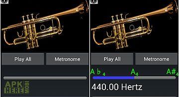 Easy trumpet - trumpet tuner