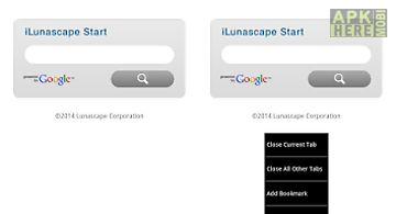 Ilunascape - web browser -