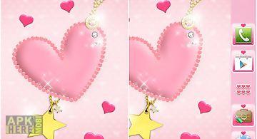 Pink heart theme