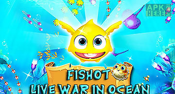 Fish shot: live war in ocean