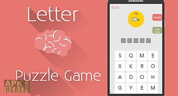 Letter brain -word puzzle