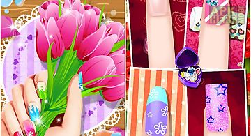 Virtual nail salon for android free download at apk here store nail art salon nails manicure prinsesfo Image collections