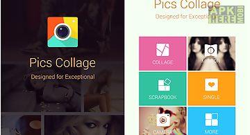 Pics collage -photo grid maker