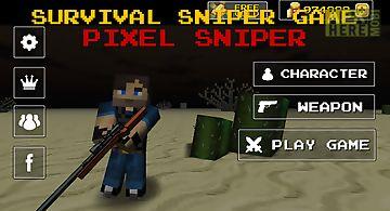 Pixel sniper zombie apocalypse
