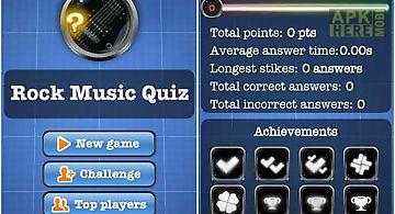 Rock music quiz free