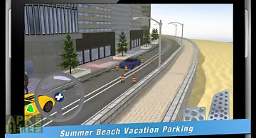 Summer beach vacation parking