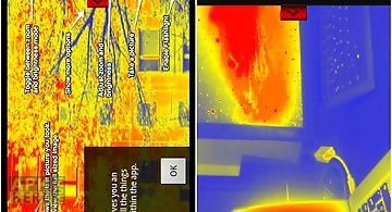 Thermal vision camera effect