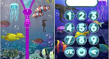 Aquarium lock screen.