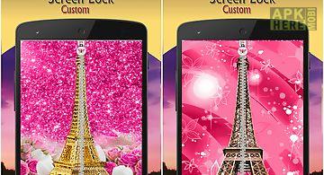 Paris zip screen lock custom