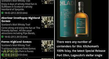 Scottish whisky news