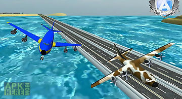 A-plane flight simulator 3d