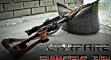 Warfare sniper 3d