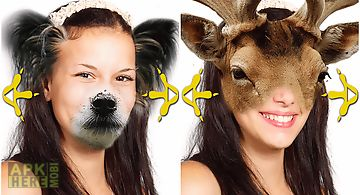 Animal face photo changer