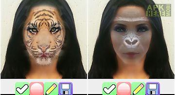 Change face to animal