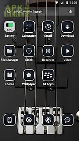 metal rock-apus launcher theme