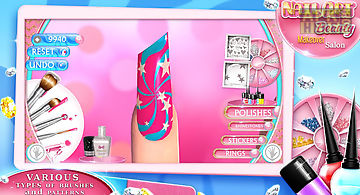Virtual nail salon for android free download at apk here store nail art beauty makeover salon prinsesfo Image collections